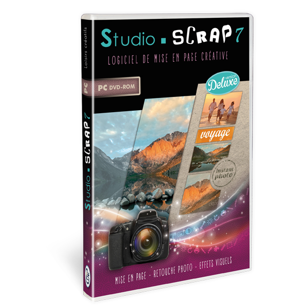 Studio-Scrap 7 Deluxe en coffret