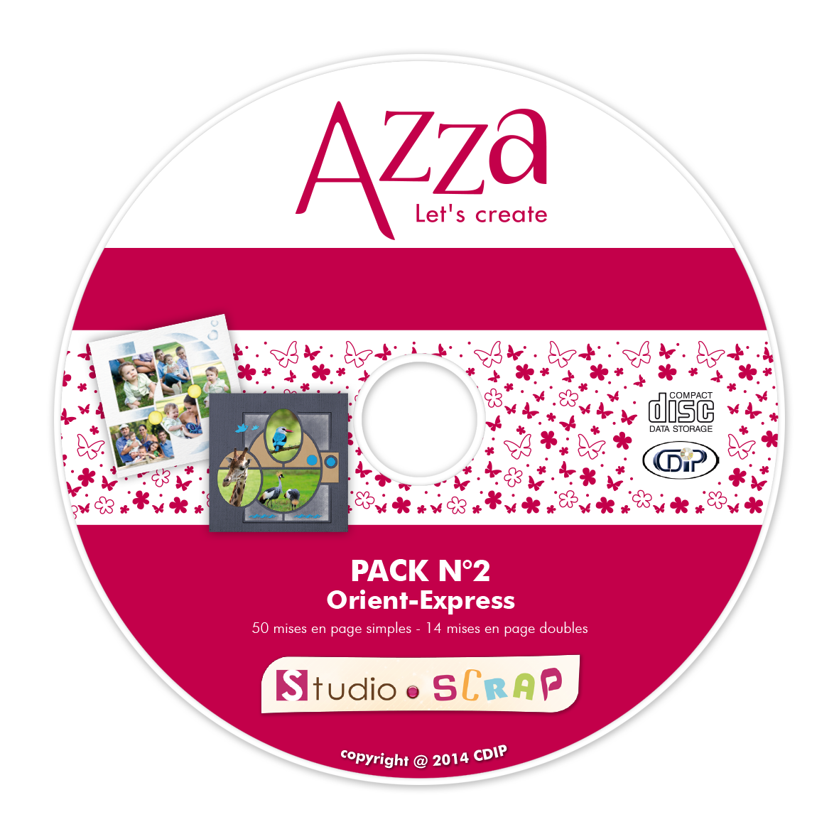 Option CD pack Azza n°2