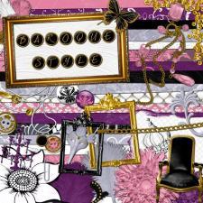 Kit « Esprit baroque »