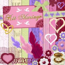 Kit « Mariage »