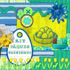 Kit « Pâques-printemps »