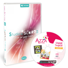 Studio-Scrap 7.5 + Pack Azza 3 en coffret