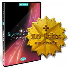 Studio-Scrap Deluxe + 10 kits à choisir plus tard en télécharg