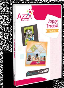 Pack Azza n°3 - Voyage tropical en coffret