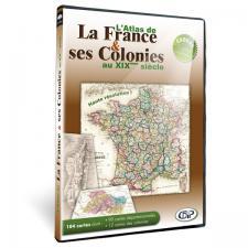 Atlas de France et ses colonies en téléchargement
