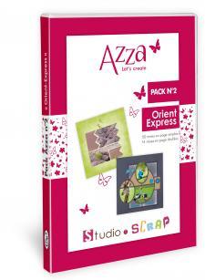 Pack Azza n°2 - Orient - Express - Scrapbooking en coffret