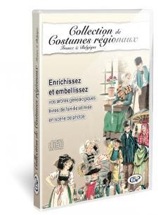 Collection de costumes régionaux - France et Belgique en coffret