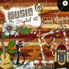 « Music » digital kit