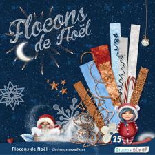 Kit « Flocons de Noël » en téléchargement