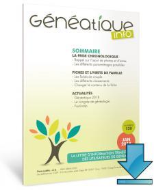 Abonnement à Généatique Info en téléchargement