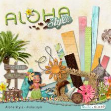 Kit « Aloha style » en téléchargement