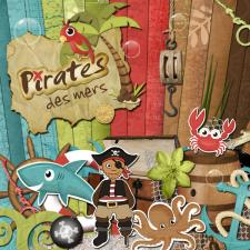Kit « Pirates des mers »