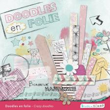 Digital kit « Crazy doodles » by download