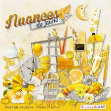 Kit « Nuances de jaune »
