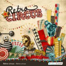 Kit « Rétro circus »