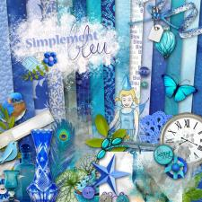 Kit « Simplement bleu »