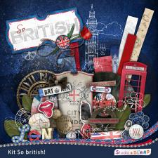 Digital kit « So british »
