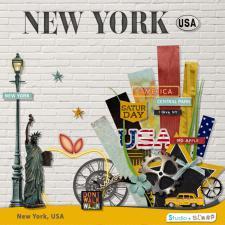 """Kit """"New-York, USA"""" en téléchargement"""