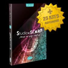 """Pack """"GIGA"""" Studio-Scrap 8 Deluxe en coffret+ 25 kits en téléchargement à choisi"""