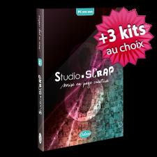 """Pack """"Trio"""" Studio-Scrap 8 Deluxe en coffret + 3 kits à choisir plus tard"""
