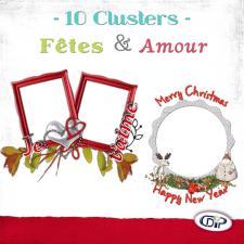 Pack Clusters « Amour et Fêtes »