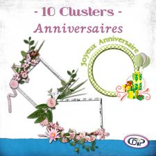 Pack Clusters « Anniversaires »