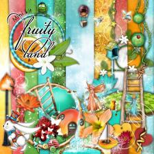 "Mini kit ""Fruity land"" by download"