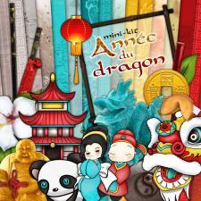 """Mini-kit """"Année du dragon"""" par téléchargement"""