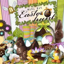 Mini kit « Easter eggs hunt »