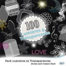 Pack 100 lumières et transparences