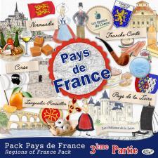 Pack « Pays de France troisième partie »