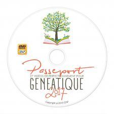 CD de Vidéos de perfectionnement pour Généatique 2017