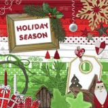 "Digital kit ""Holiday Season"" by download"