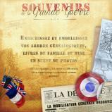 Pack d'éléments graphiques : Souvenirs de la Grande Guerre en téléchargement