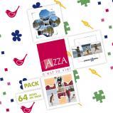 Pack Azza n°1 - 64 mises en page en téléchargement