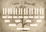 Arbre généalogique à télécharger « Notre famille »