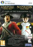 "Pack Jeu ""Empire Total War + ""Napoléon Total War"""