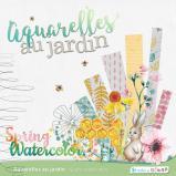 """Kit """"Aquarelles au jardin"""" en téléchargement"""