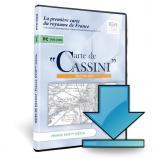 Carte de Cassini 2015 en téléchargement