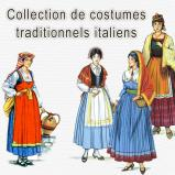 Collection de costumes traditionnels italiens sur CD