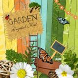 "Digital kit ""Garden"" by download"