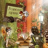 "Digital kit ""Forest spirit"" by download"