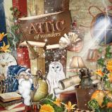 "Digital kit ""Attic of wonders"" by download"