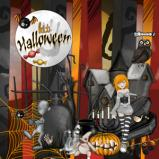 "Digital kit  ""Halloween"" by download"