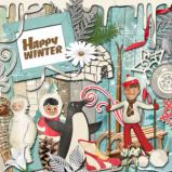 "Digital kit ""Happy Winter"" by download"