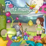 "Digital Kit ""Plum's musings at the enchanted garden"" by download"