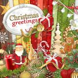 "Digital kit ""Christmas greetings"" by download"