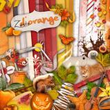 Kit « Zeste d'orange  » en téléchargement