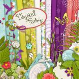 """Digital kit """"Vegetal poetry"""" by download"""