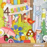 "Digital kit ""Four seasons"" by download"